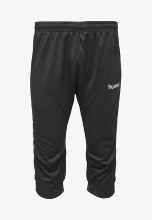 AUTH. CHARGE - 3/4 sports trousers - black