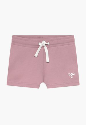 Sports shorts - mauve shadow