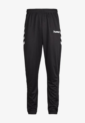 CORE POLY  - Tracksuit bottoms - black