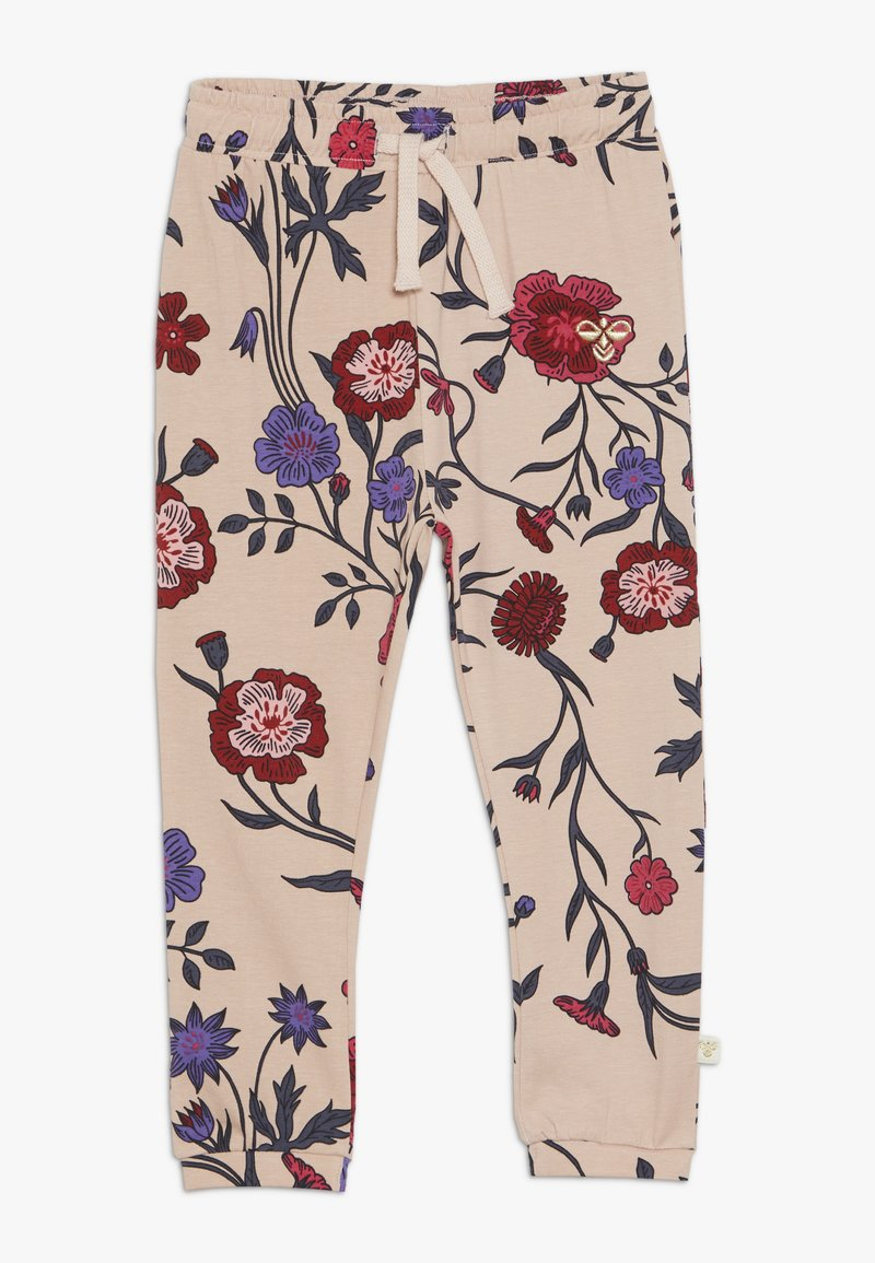 Hummel - DOLLY PANTS - Tracksuit bottoms - cameo rose