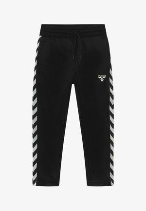 KICK - Teplákové kalhoty - black