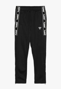 Hummel - HMLASK PANTS - Pantalones deportivos - black - 0