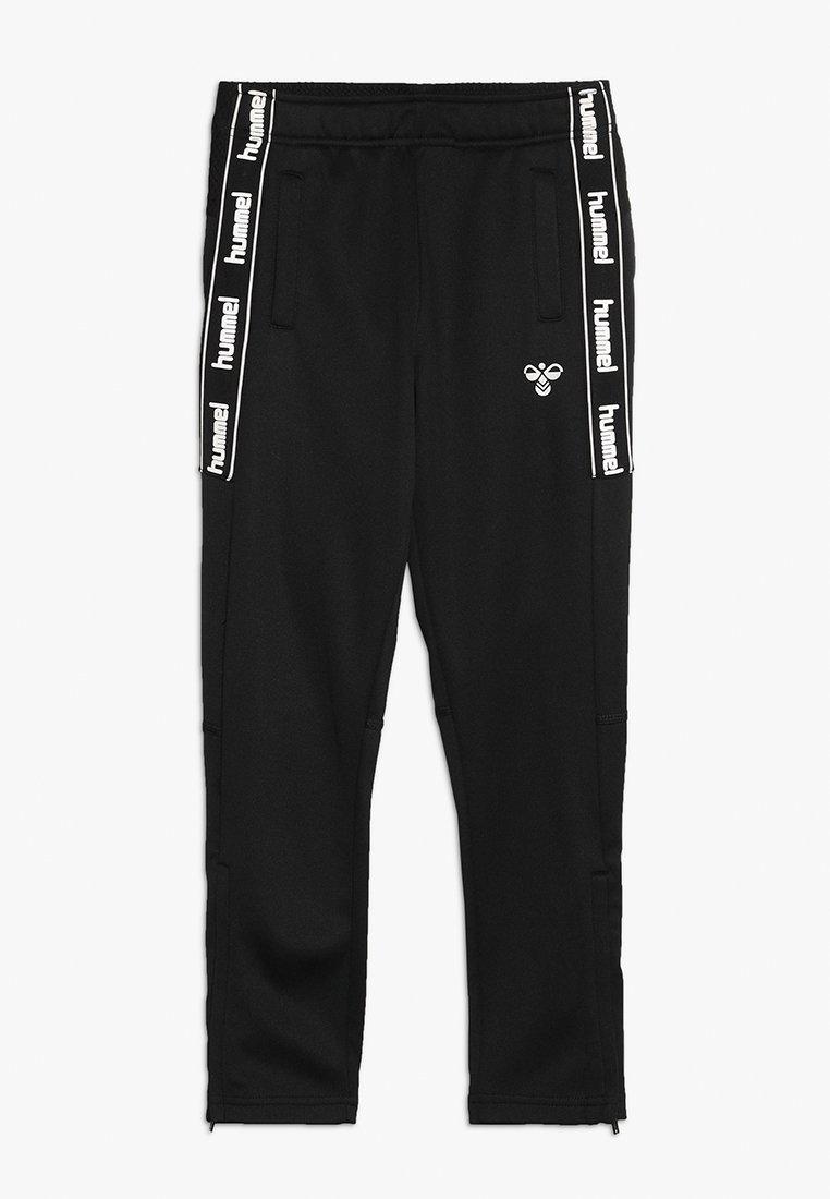 Hummel - HMLASK PANTS - Pantalones deportivos - black