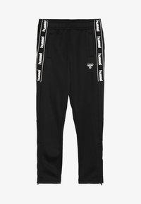 Hummel - HMLASK PANTS - Pantalones deportivos - black - 3