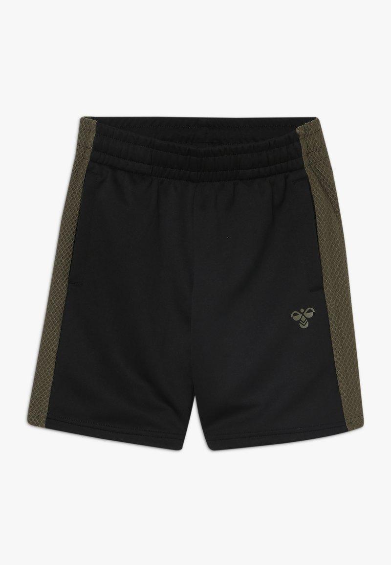 Hummel - HMLKANE SHORTS - Pantalón corto de deporte - black
