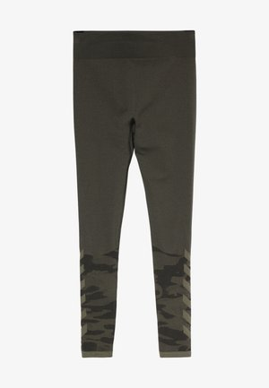 LUKA SEAMLESS - Leggings - olive night