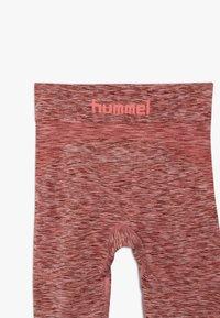 Hummel - LULLU SEAMLESS - Leggings - ash rose - 3