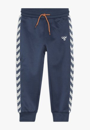WES PANTS - Pantalones deportivos - dark denim