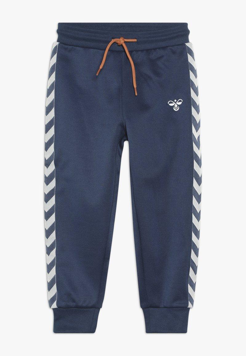 Hummel - WES PANTS - Pantalones deportivos - dark denim