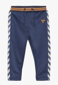 Hummel - GRAIG PANTS - Kalhoty - dark denim - 0