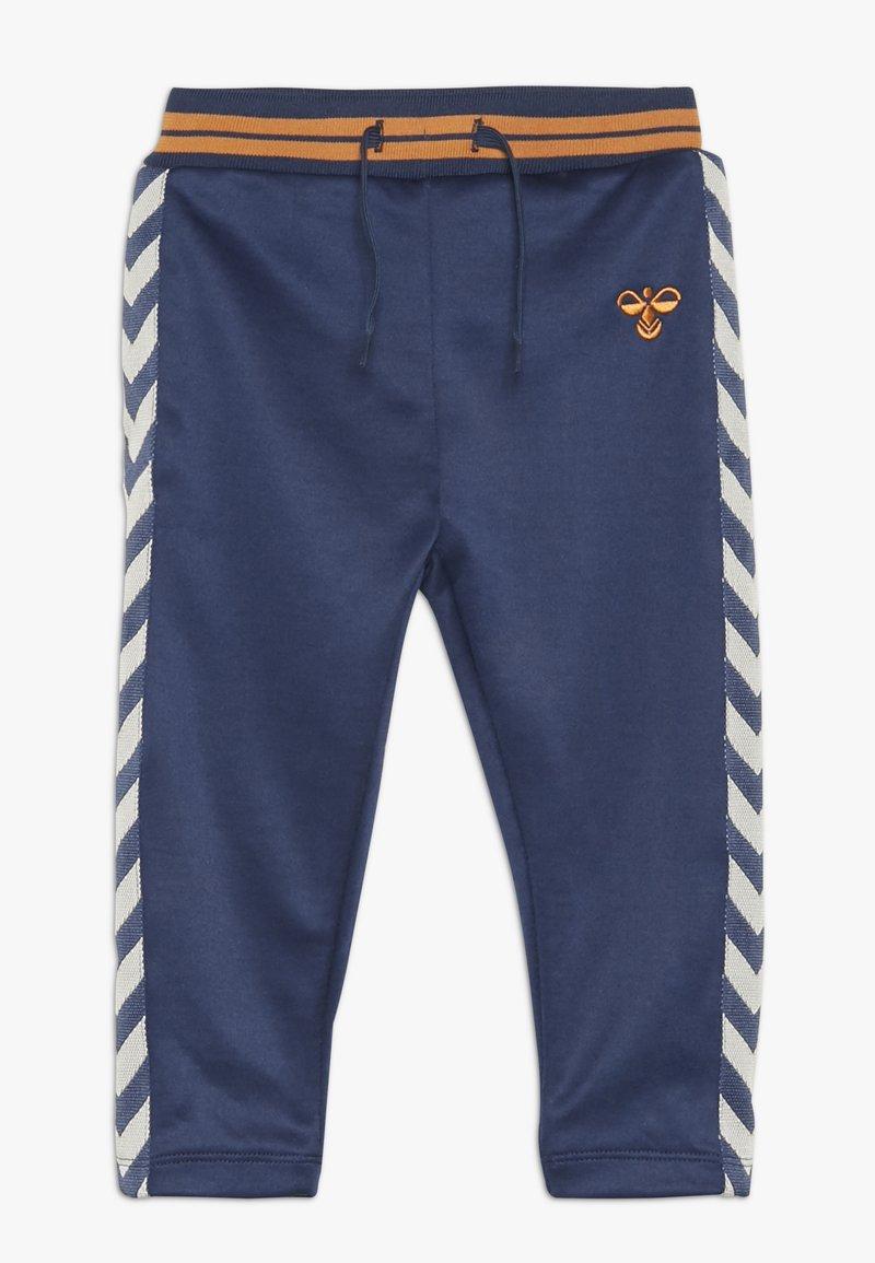 Hummel - GRAIG PANTS - Kalhoty - dark denim
