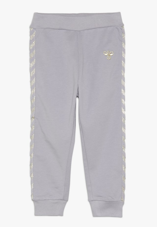 HMLMARGRET PANTS - Stoffhose - lilac/gray