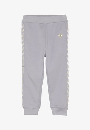 HMLMARGRET PANTS - Trousers - lilac/gray