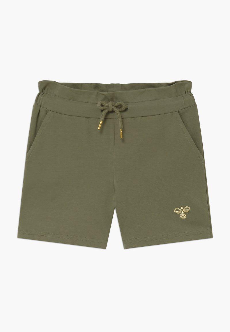 Hummel - ARLINDA - Sports shorts - deep lichen green