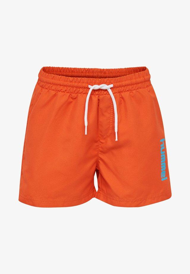 BONDI - Badeshorts - mandarin red