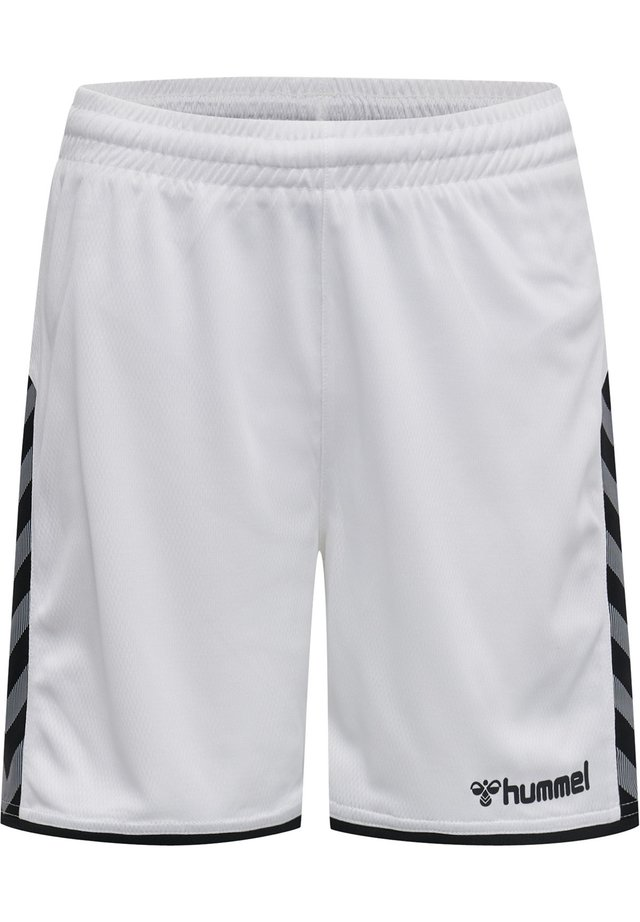 HMLAUTHENTIC  - Korte sportsbukser - white
