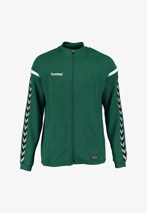 AUTH. CHARGE - Training jacket - evergreen