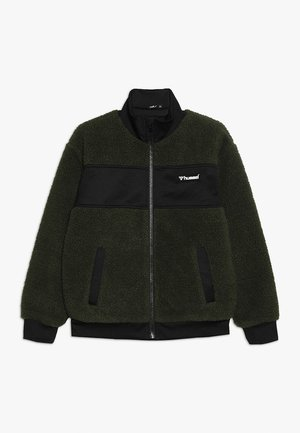 EDGAR ZIP JACKET - Fleecejas - olive night