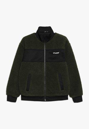 EDGAR ZIP JACKET - Fleece jacket - olive night