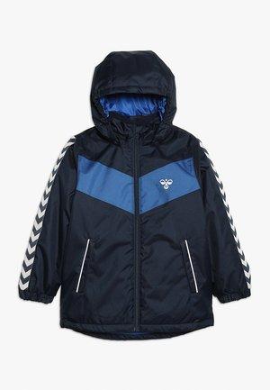 JENS JACKET - Hardshell jacket - black iris
