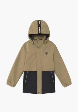 MARK - Outdoorová bunda - beige/dark blue