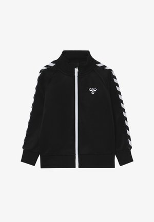 FIG ZIP JACKET - Trainingsjacke - black