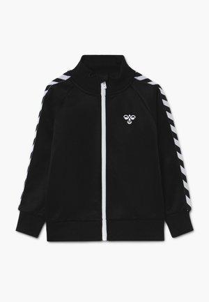 FIG ZIP JACKET - Treningsjakke - black
