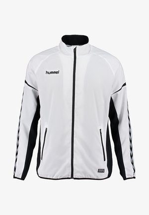 AUTH. CHARGE MICRO ZIP - Training jacket - white