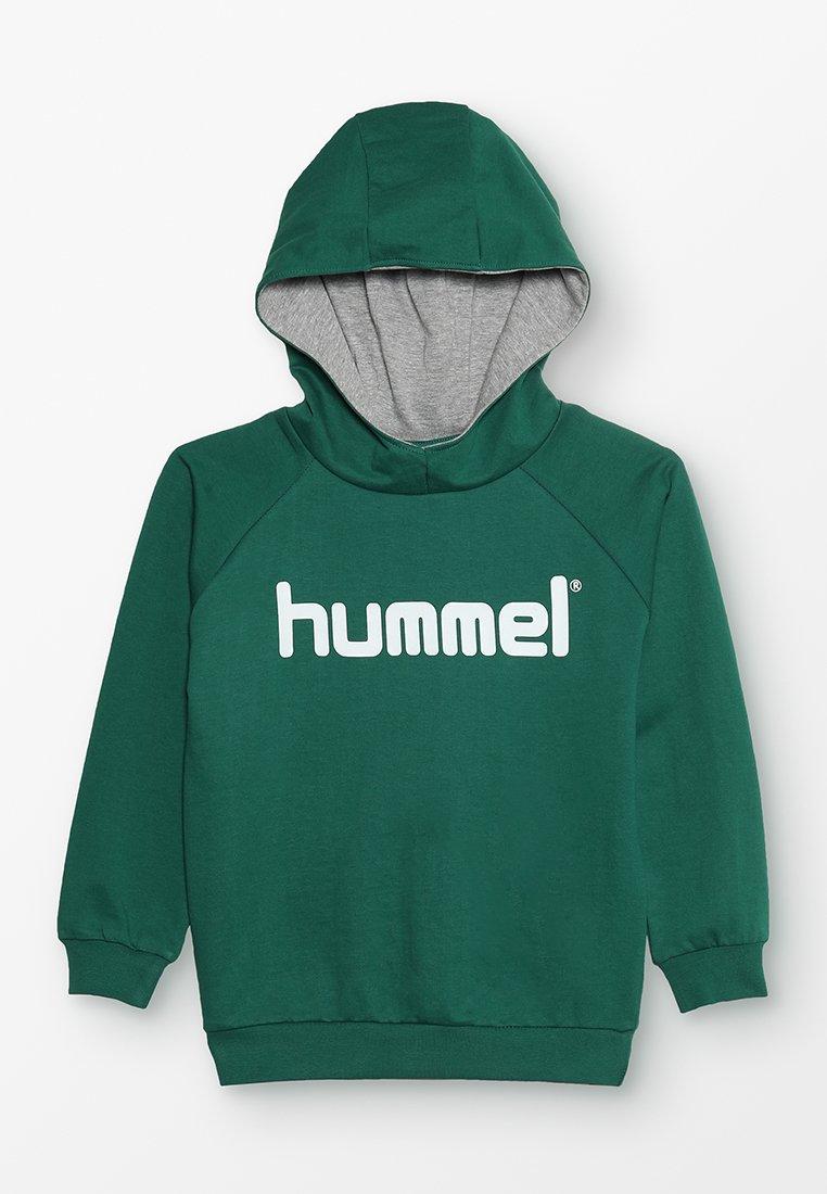 Hummel - Kapuzenpullover - evergreen