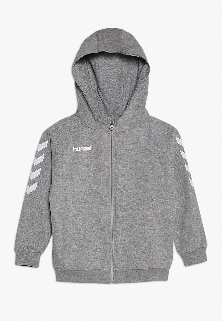 Hummel - HMLGO - Sweatjakke /Træningstrøjer - grey melange