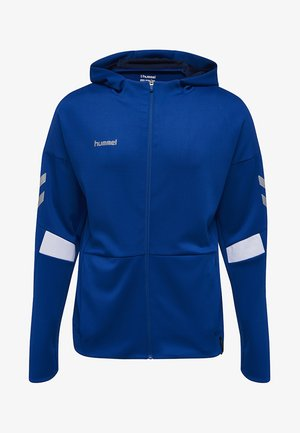 TECH MOVE  - Zip-up hoodie - blue