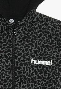 Hummel - NICK ZIP HOODIE - Sudadera con cremallera - black - 4