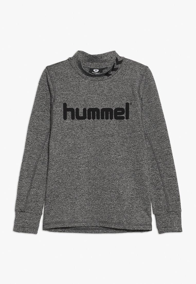 Hummel - HMLASK  - Fleecová mikina - medium melange