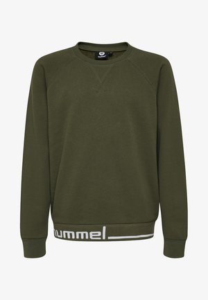 HMLDEVEN  - Sweater - olive night