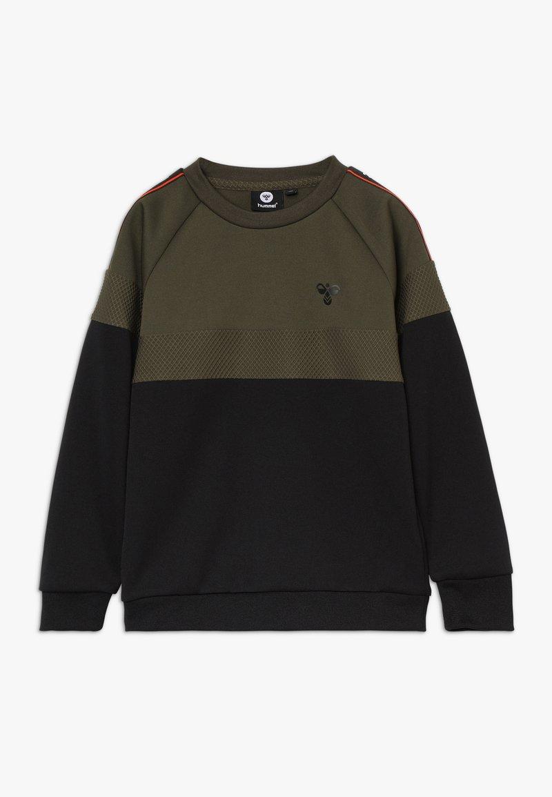 Hummel - HMLKANE - Sweatshirt - olive night