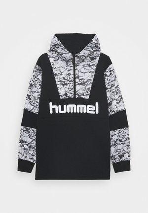HMLRASMUS HOODIE - Hoodie - black