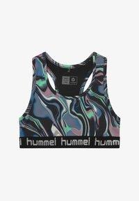 Hummel - MIMMI - Sports bra - green ash - 2