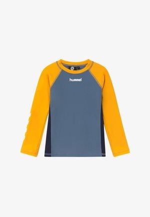 BRISBANE TEE - Rash vest - copen blue