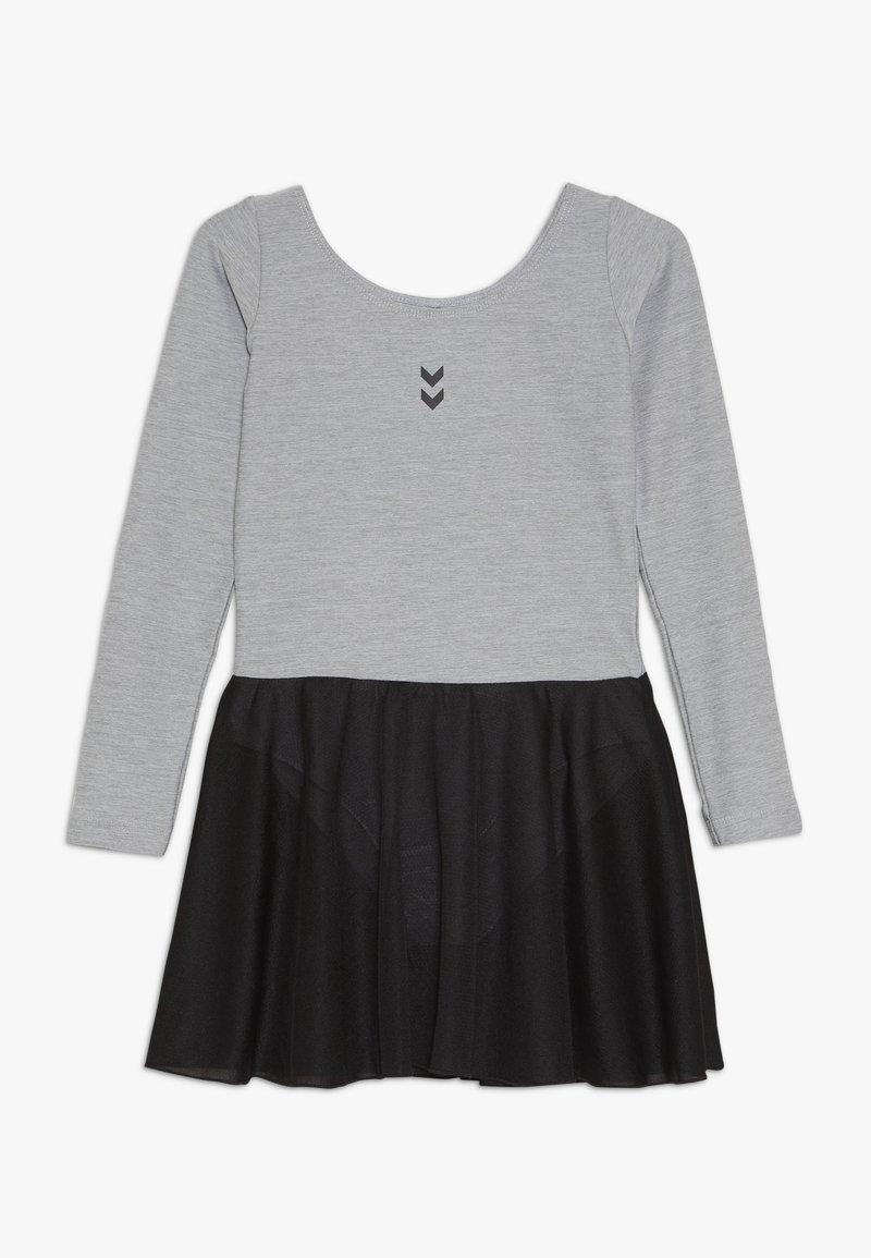 Hummel - TUTTI GYMNASTIC SUIT - Vestido de deporte - grey melange