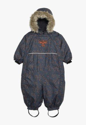 HMLMOON SNOWSUIT - Pantalón de nieve - graphite/sierra