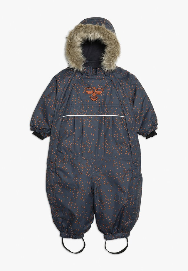 HMLMOON SNOWSUIT - Snow pants - graphite/sierra