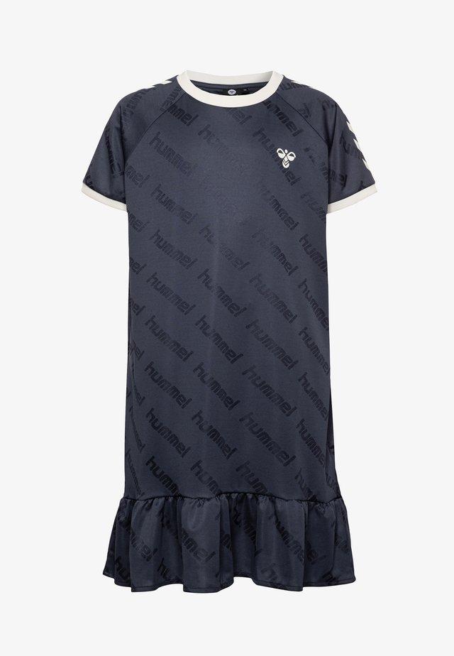 HMLSARA DRESS  - Sportskjole - blue nights