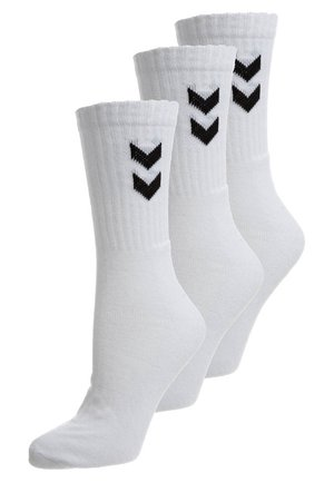 BASIC 3 PACK - Sportsokken - white