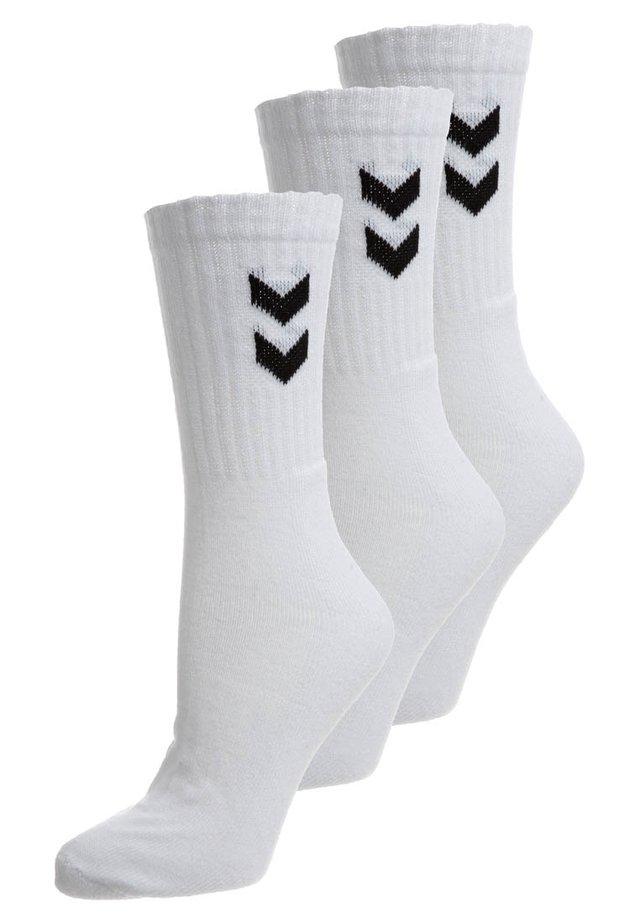 BASIC 3 PACK - Sportsstrømper - white