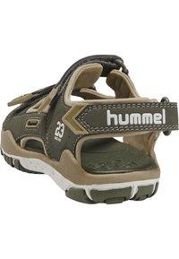 Hummel - TREKKING JR - Sandały trekkingowe - deep lichen green - 3