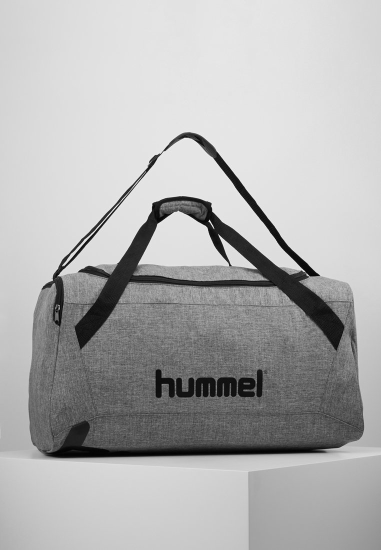 Hummel - CORE SPORTS BAG - Sporttasche - grey melange