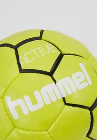 Hummel - HMLACTIVE  - Balón de balonmano - black/sulphur - 4