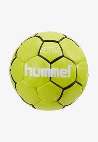 Hummel - HMLACTIVE  - Balón de balonmano - black/sulphur - 3