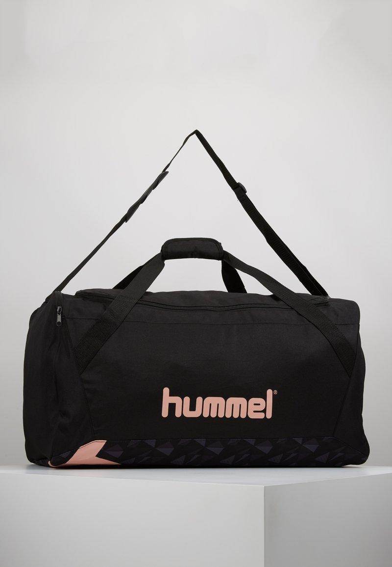 Hummel - ACTIVE SPORTSBAG - Sporttasche - black/mellow rose