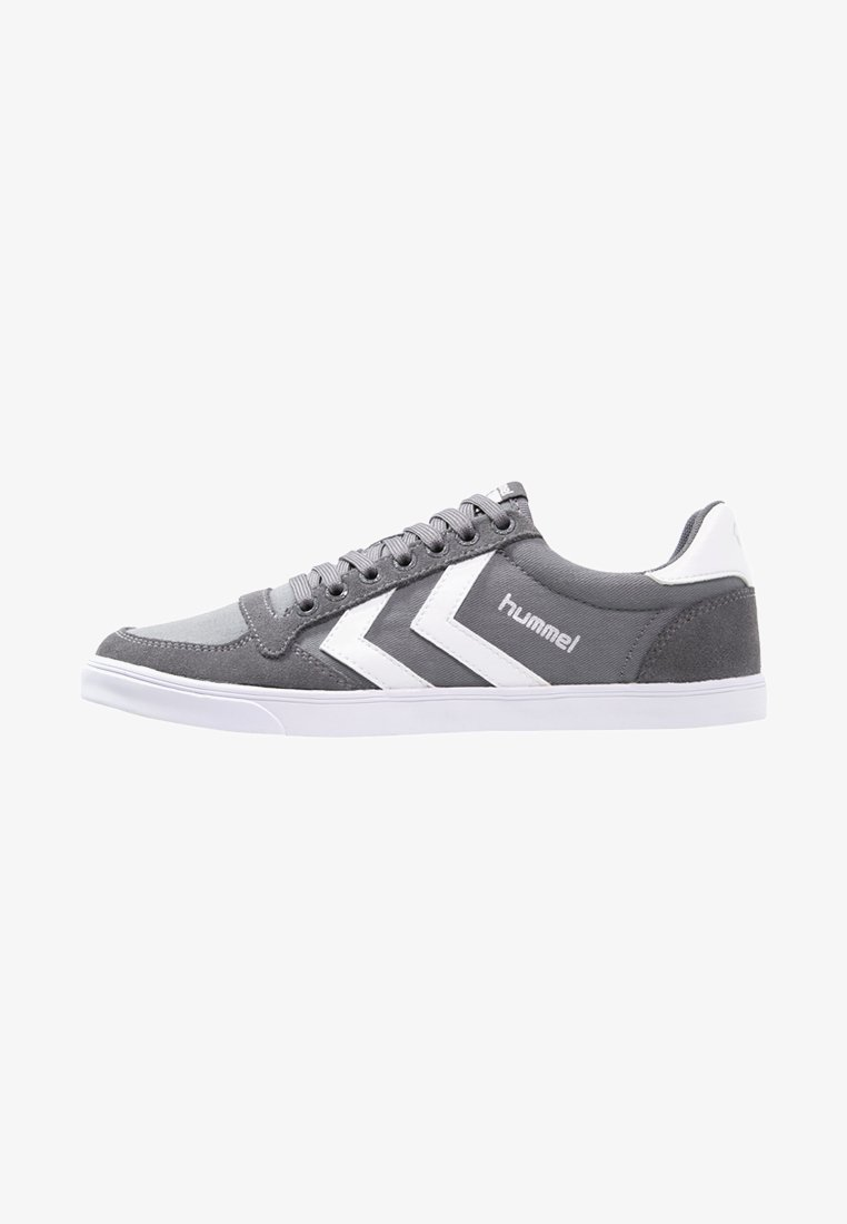 Hummel - SLIMMER STADIL - Trainers - castle rock/white